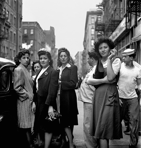 Little Italy, New York 1943 © Estate of Fred Stein