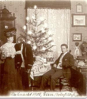Weihnachten 1908
