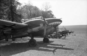 Wundshammer, Flugzeug Messerschmitt, Mai 1940