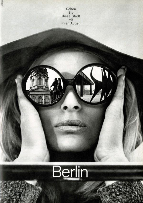 Werbekampagne des Verkehrsamtes Berlin 1970