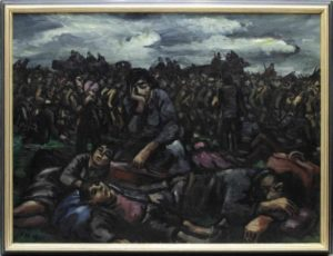 Frans Masereel: Kriegsflüchtlinge, 1941