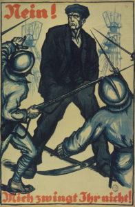 "Plakate im ""Ruhrkampf"" 1923"