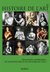 """Aktuelles Heft der """"Histoire de l'art"""": <br />Humanités numériques: de nouveaux récits en histoire de l'art?"""